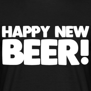 Happy New Beer! - Men's T-Shirt