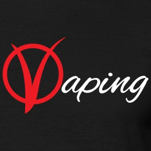 vaping V - Men's T-Shirt