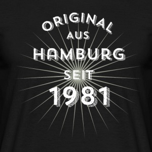 Original from Hamburg since 1981 - Men's T-Shirt