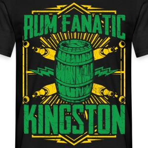 T-shirt Rum Fanatic - Kingston, Giamaica - Maglietta da uomo