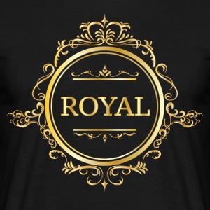 Just Be Royal. - Herre-T-shirt