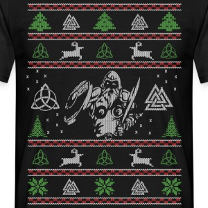 Fula Christmas Vikings - T-shirt herr
