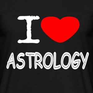 I LOVE ASTROLOGY - Men's T-Shirt