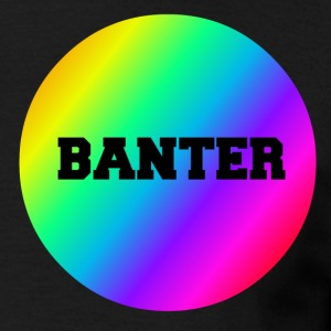 Small Rainbow Banter Badge - Men's T-Shirt