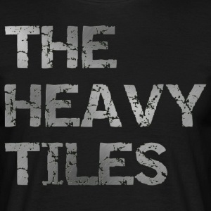 The heavy Tiles Heavy logo - Maglietta da uomo