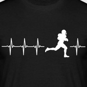 I love American Football (American Football) - Men's T-Shirt