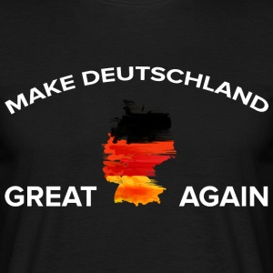 Maak Duitsland Great Again - Mannen T-shirt