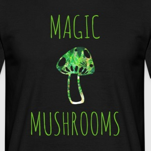 Magische Pilze magic mushrooms - Männer T-Shirt