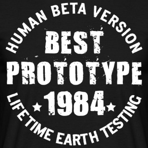 1984 - The year of birth of legendary prototypes - Men's T-Shirt