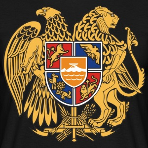 Armenia emblem - Men's T-Shirt