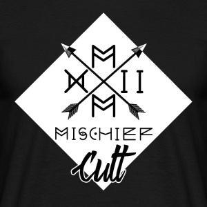 ♠ ♠ Mischief Cult Logo Design ♠ ♠ Streetwear White - Men's T-Shirt