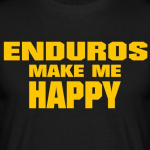 Enduro Make Me Happy - T-shirt Homme