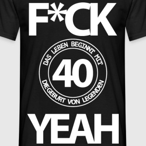 40 years - Men's T-Shirt