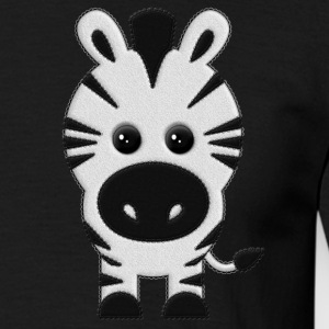 Zebra Plush - T-shirt herr