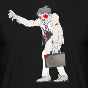 Zombie Collection: Suit Zombie - Herre-T-shirt