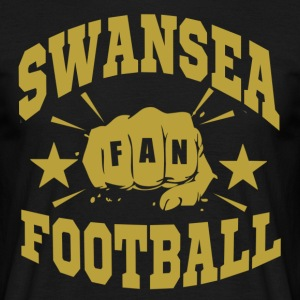 Swansea Football Fan - Men's T-Shirt