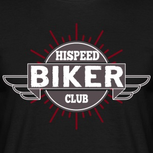 Biker HiSpeedClub - Men's T-Shirt