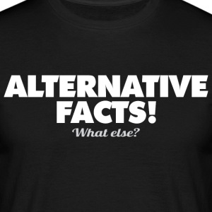 alternative-facts - Männer T-Shirt