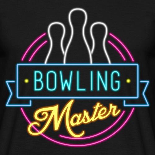 Bowling Master Neon - Männer T-Shirt