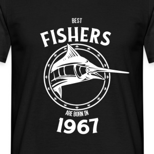 Present for fishers born in 1967 - Men's T-Shirt