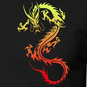 Golden Dragon - Herre-T-shirt