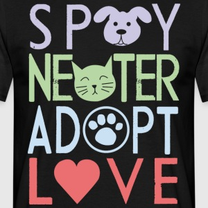 Adopter un animal de compagnie - T-shirt Homme