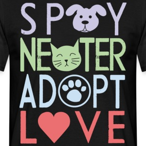 Adopt a pet - Men's T-Shirt