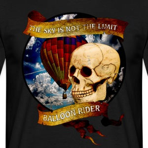 Balloon Rider - T-skjorte for menn
