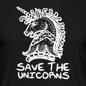 Unicorn - Save the Unicorns - T-shirt Homme