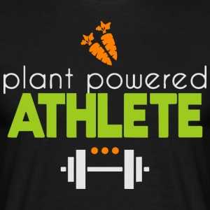 Plant powered athlete - Men's T-Shirt