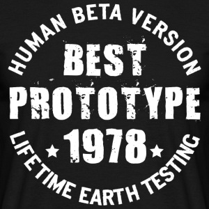 1978 - The year of birth of legendary prototypes - Men's T-Shirt