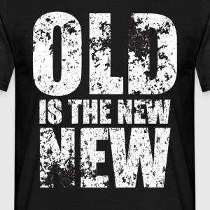 Hipster: Old is the new new - Men's T-Shirt