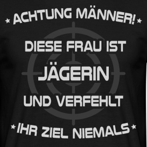 Hunter / Hunter / Jagen - Mannen T-shirt