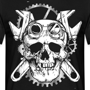 World Of Skulls! - T-skjorte for menn