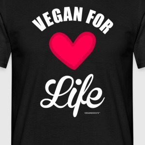 """Vegan For Life"" - T-shirt Homme"
