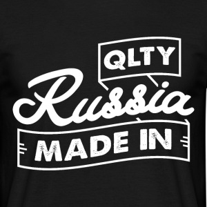 Qlty MADE IN RUSSIA - T-skjorte for menn