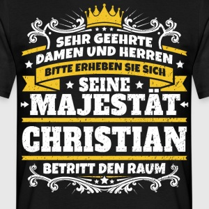 His Majesty Christian - Men's T-Shirt