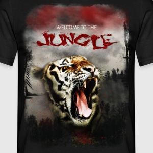 Welcome to the jungle - Männer T-Shirt