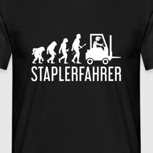 StaplerEvolution - Männer T-Shirt
