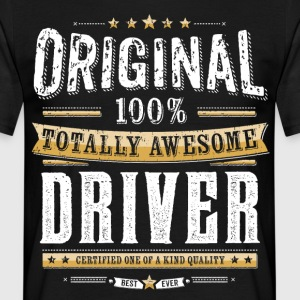 Original 100% Awesome Driver - T-skjorte for menn