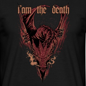 Smaug drage - T-skjorte for menn