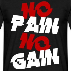 no pain - Men's T-Shirt