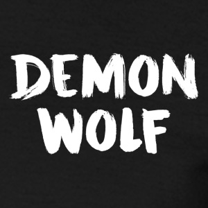DemonWolf Logo texte - T-shirt Homme