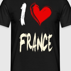I love france - Men's T-Shirt