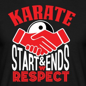 Karate Respect - Men's T-Shirt