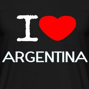 I LOVE ARGENTINA - Men's T-Shirt