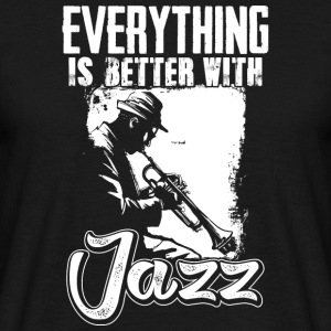 I love Jazz - Männer T-Shirt