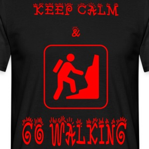 GO_WALKING - T-skjorte for menn