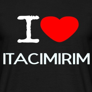 I LOVE Itacimirim - Men's T-Shirt
