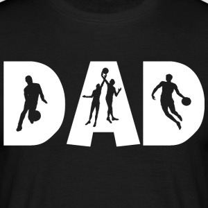 Basketball DAD - T-shirt Homme